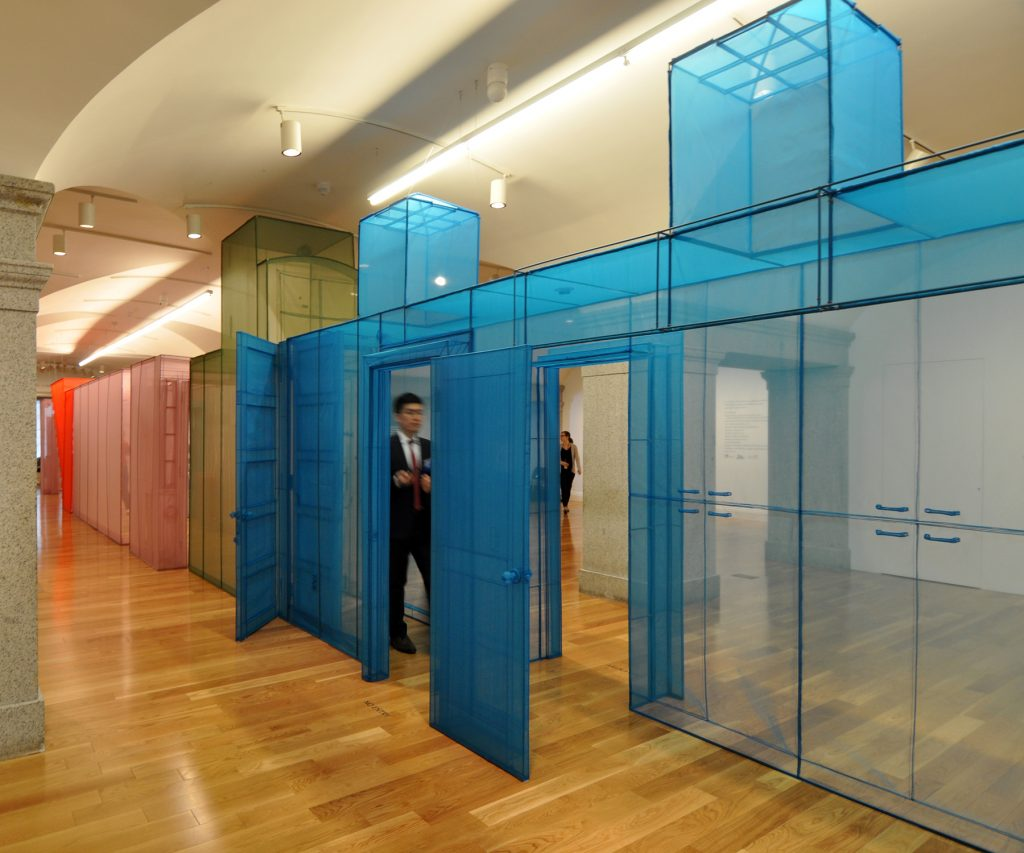 Installation view of Do Ho Suh: Almost Home at the Smithsonian American Art Museum | © Deane Madsen